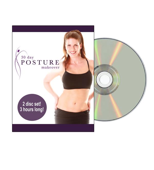 30-day Posture Makeover DVD (2 disc set)